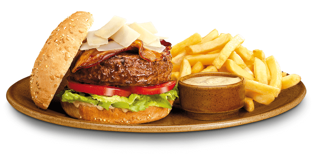 "Foster's ""Caesar"" Burger"